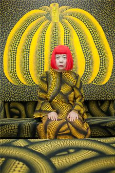 The portrait is of the artist and writer, Yayoi Kusama, and was taken at Kusama's studio in Tokyo as a commission for the Sunday Telegraph. At the age of eighty-six, Kusama is still a prolific painter with exhibitions worldwide including retrospectives at Tate Modern and the Whitney Museum, New York. Noriko Takasugi (b. 1974) studied human sciences before later undertaking foundation studies and an MA in photojournalism and documentary photography at the London College of Communication.