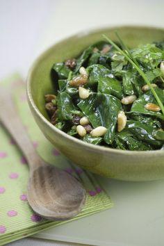 Salade de pousses d'épinards : recette de salade d'épinards