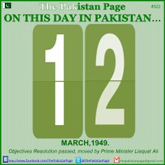 #Pakistan #March #History #OnThisDay