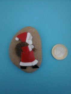 Little Paperweight micro mosaic Santa Claus di Crazy4Mosaics