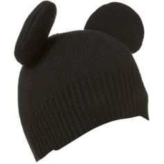 This adorable mouse ear beanie from Peter Jensen's collection for Topshop. Topshop also launched Alice McCall and Sass & Bide collections as well.