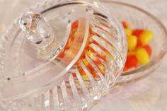 Cut Glass Round Dresser Box Crystal Lidded Bowl by losttreasures2u, $16.99