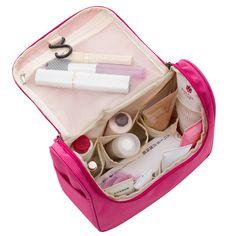 2017 bolsa de Viaje Bolsas de Cosméticos de Moda de Poliéster Resistente Al Agua Multifunción Maquillaje Bolsa de Almacenamiento de Bolsa de Aseo De Alta Calidad Para Los Hombres de Las Mujeres