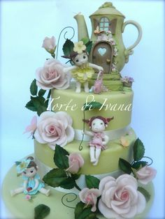 Cute Gardening Cake by Torte Di Ivana 2013