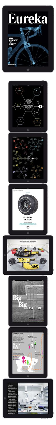 The Times's Eureka app for the iPad