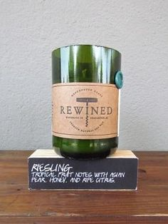 Riesling candle from red in fred