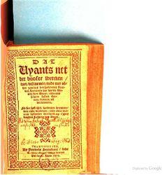 Dat vyants net der booser wercken, raet, visioenen ... - Jan Verbrugghen, P. B. - 1609