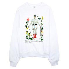 My design inspiration: Muhammad Ali Sweatshirt on Fab.
