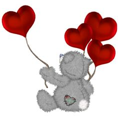 tatty teddy graphics | Tatty Teddy Valentine Cartoon Clip Art ...