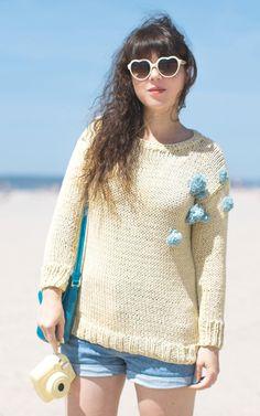 Vanilla Sweater by Pauline Privez