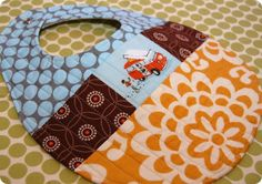 Quilted Patchwork Bib Pattern And Tutorial ... sewshesews
