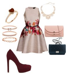 """💗👠💄"" by rbrayane ❤ liked on Polyvore featuring ALDO, Accessorize, Kate Spade and Chanel"