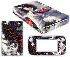EBTY-Dreams Inc. - Nintendo Wii U - Tokyo Ghoul Anime Girl Touka Kirishima Vinyl Skin Sticker Decal Protector