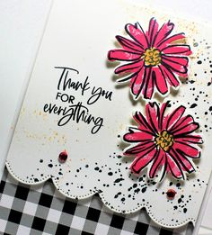 Black and Pink with International Hopping ~ Busy with the Cricky Color Contour, Contour Set, Flower Cut Out, Club Design, Craft Club, Color Card, Colour, Die Cut Cards, So Creative