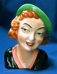 Bette Davis Vintage Head Vase...oh, my word, what I wouldn't give for this!!