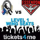 #Ticket  COLLINGWOOD MAGPIES v ESSENDON BOMBERS SEATS TICKETS ANZAC DAY AFL MCG FOOTY #Australia
