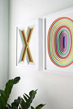 Cómo hacer un cuadro personalizado con textura usando foam   Aprender manualidades es facilisimo.com