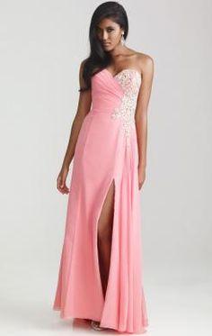 Elegant Long Pink Tailor Made Evening Prom Dress (LFNAF0131) http://www.marieprom.co.uk/pink-prom-dresses-uk