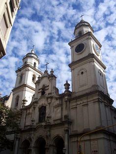 Cúpulas y Arquitectura de Buenos Aires - Iglesia san ignacio de loyola -argentina