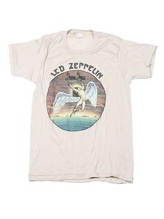 Led Zeppelin Swan Song Vintage T-Shirt 1975