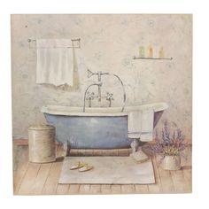 Toile d co salle de bain elise tableaux d co pinterest for Toile salle de bain