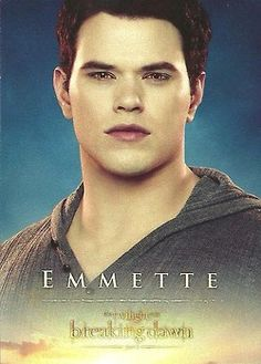 Emmett, they spelled his name wrong:(