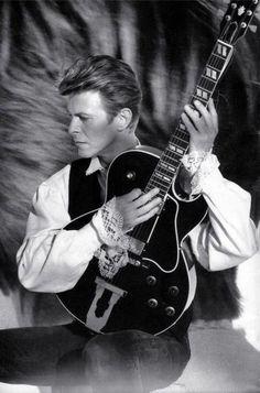 "vezzipuss.tumblr.com — David Bowie, ""Sound & Vision"", Circa 90"