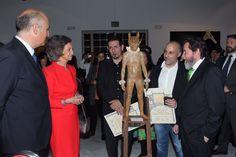 Doña Sofía, en la entrega del 52 Premio Reina Sofía de Pintura y Escultura.  14-03-2017