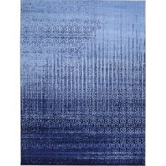 Found it at AllModern - Ronit Blue Area Rug