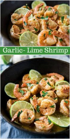 WMF Cutlery And Cookware - One Of The Most Trustworthy Cookware Producers Garlic Lime Shrimp Recipe From Lime Shrimp Recipes, Shrimp Recipes For Dinner, Seafood Recipes, Chicken Recipes, Gourmet Recipes, Cooking Recipes, Healthy Recipes, Lime Recipes, Easy Soup Recipes