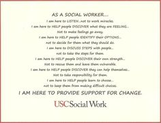 USC School of Social Work...was accepted to their program, but SLU was cheaper.