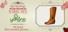 Tell us your #Christmas wishes and get a wonderful #Yokono's gift! :D