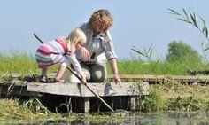 Website met pagine voor kinderen en natuur. Spelletjes, knutsels, kleurplaten speurtochten