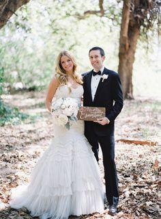 Drop-dead gorgeous wedding: http://www.stylemepretty.com/2015/01/09/pastel-spring-wedding-at-dos-pueblos-ranch/ | Photography: Pat Moyer - http://patmoyerweddings.com/