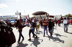 Africanos en la frontera se niegan a utilizar los centros de atención