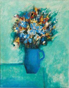 Charles Blackman ~ Bouquet, 1957