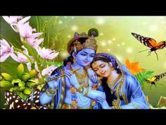 Radha and Krishna were considered soulmates. Find a collection of Radha Krishna images, wallpapers, paintings, love images, photos & their stories here. Hare Krishna, Krishna Gif, Krishna Songs, Radha Krishna Images, Radha Krishna Love, Krishna Photos, Krishna Pictures, Om Namah Shivaya, Hd Wallpaper Desktop