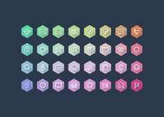 Lumina is collection of pixel perfect hexagon icons. 32 icons in the set. Lumina comes in vector Ai and PSD file. Vector Shapes, Vector Icons, 3d Icons, Hexagon Vector, Credit Card Icon, Android Icons, Free Icons Png, Social Icons, Business Icon