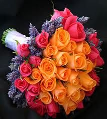 Not so many orange roses but this is what I am going for :)