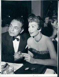 Edward G. Robinson & Jane Wyman