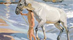 "Sorolla ""The Horse's Bath"" © Ministry of Culture"
