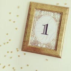 「nippie'sDIY テーブルナンバー&フレームはじめます♩」の画像|nippieのブログ |Ameba (アメーバ)