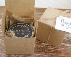 neat little favor box for winter wedding 2014 2015 #elegantweddinginvites