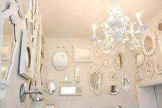 9 Jolting Useful Tips: Shabby Chic Diy Birthday shabby chic mirror shelves. Shabby Chic Porch, Shabby Chic Mirror, Shabby Chic Frames, Shabby Chic Baby Shower, Shabby Chic Living Room, Shabby Chic Interiors, Shabby Chic Kitchen, Shabby Chic Style, Shabby Chic Furniture