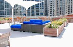 13 roof top garden planter