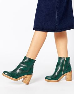 Изображение 1 из ASOS END OF THE WORLD Ankle Boots