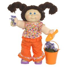 Classic Cabbage Patch Kid. I remember the crazy fad of this dolls.