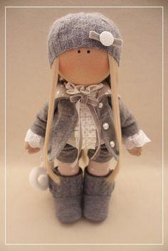 Фотография Pretty Dolls, Cute Dolls, Beautiful Dolls, Diy Doll, Doll Crafts, Doll Toys, Baby Dolls, Muñeca Diy, Fabric Toys