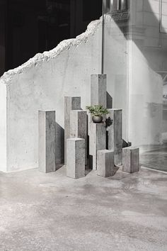 Jeonghwa Seo Designs Furniture For A Rough-Cut Concrete Cafe And Bar In Seoul - IGNANT