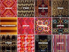 Know our traditional woven fabrics, so you don't accidentally wear a sacred death blanket. Philippines Outfit, Philippines Tattoo, Philippines Culture, Manila Philippines, Filipino Art, Filipino Culture, Filipino Tattoos, Traditional Filipino Tattoo, Weaving Patterns